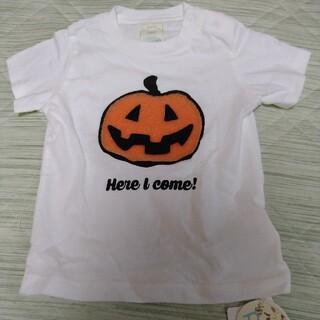 gelato pique - 《新品タグ付》ジェラートピケベビー☆ハロウィンパンプキンTシャツ70〜80cm