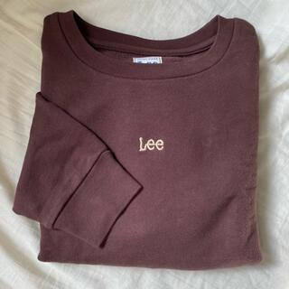 Lee - Lee スウェット ブラウン
