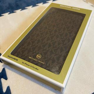 マイケルコース(Michael Kors)のMICHAELKORS IPHONE12PROMAX マグセフフォリオケース (iPhoneケース)