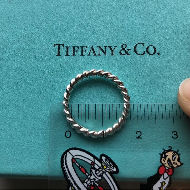 Tiffany & Co.(ティファニー)のティファニー シルバーウェーブリング 10号 レディースのアクセサリー(リング(指輪))の商品写真