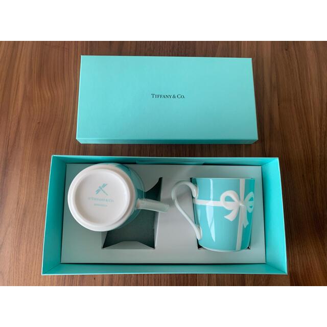 Tiffany & Co.(ティファニー)のTIFFANY&Co ペアマグカップ インテリア/住まい/日用品のキッチン/食器(グラス/カップ)の商品写真