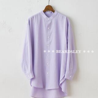 ビアズリー(BEARDSLEY)の28600円 BEARDSLEY ビアズリー 新品 タグ付き サラッとシャツ(シャツ/ブラウス(半袖/袖なし))