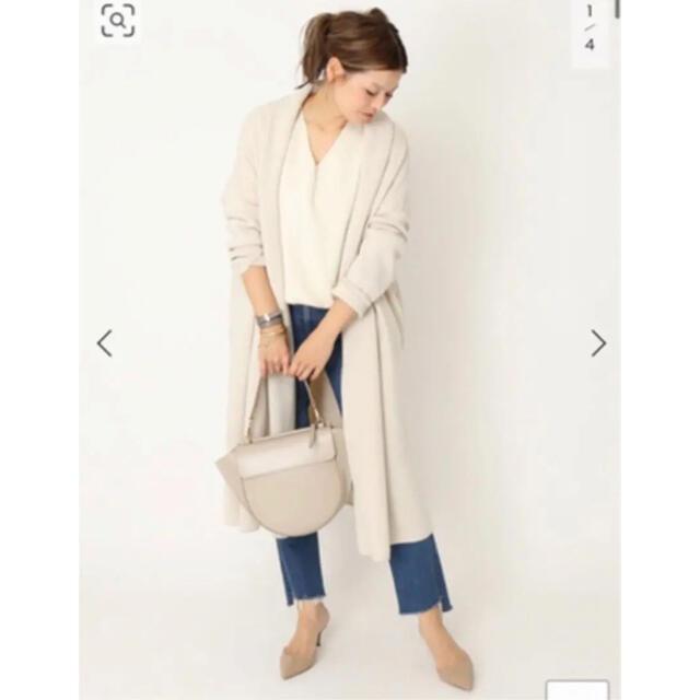 DEUXIEME CLASSE(ドゥーズィエムクラス)のドゥーズィエムクラス ガウンコート20AW 超美品❗️ラクマ限定価格 レディースのジャケット/アウター(ガウンコート)の商品写真