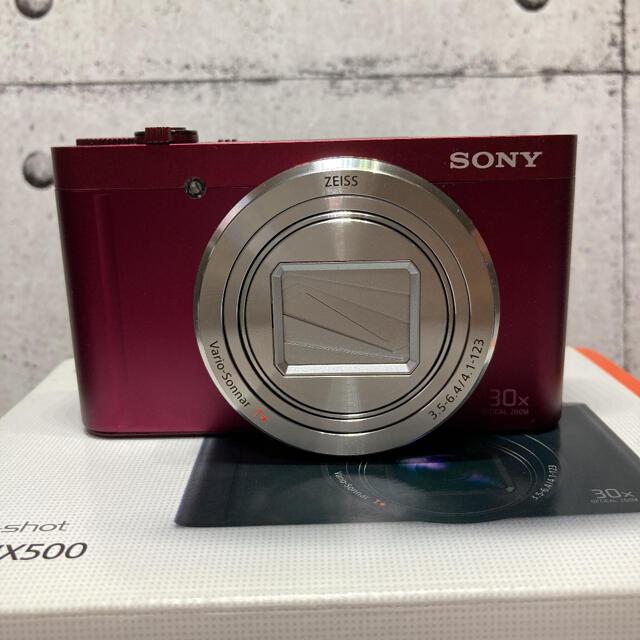 SONY(ソニー)のねもふぃら様専用 SONY Cyber−Shot WX DSC-WX500(R) スマホ/家電/カメラのカメラ(コンパクトデジタルカメラ)の商品写真
