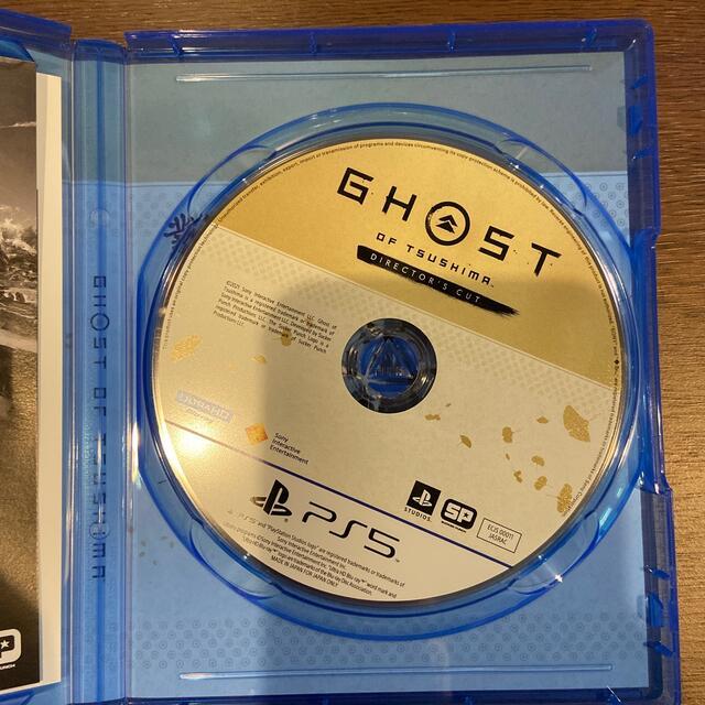 PlayStation(プレイステーション)のGhost of Tsushima Director's Cut PS5 エンタメ/ホビーのゲームソフト/ゲーム機本体(家庭用ゲームソフト)の商品写真