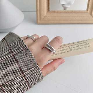 トゥデイフル(TODAYFUL)の#1014 import ring : wired silver(リング(指輪))