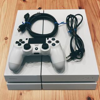 PlayStation4 - PlayStation4 グレイシャー・ホワイト 500GB