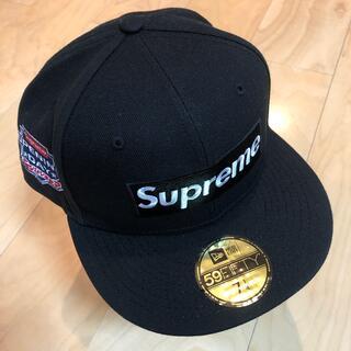 Supreme -  Supreme No Comp Box Logo  New Era Black