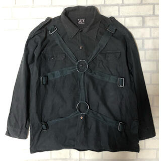 Vivienne Westwood - S.E.X Angromania パラシュートシャツ ブラック パンク