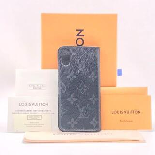 ルイヴィトン(LOUIS VUITTON)のルイヴィトン モノグラム エクリプス フォリオ アイフォンX/Xs スマホカバー(iPhoneケース)