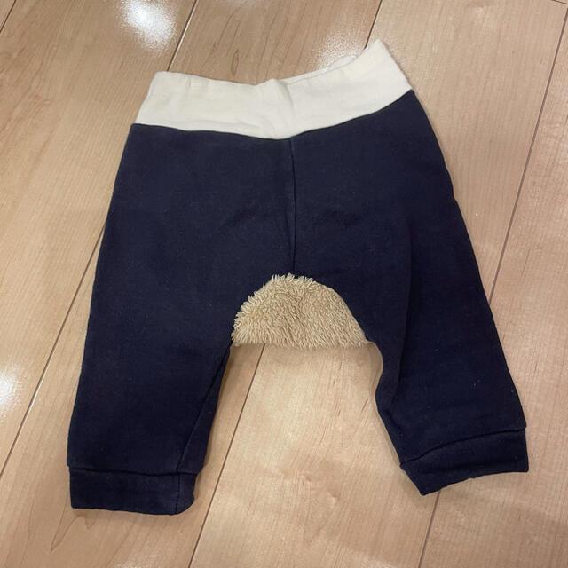 petit main(プティマイン)のプティマイン ズボン 70 くま キッズ/ベビー/マタニティのベビー服(~85cm)(パンツ)の商品写真