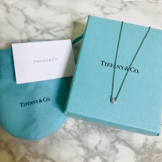 Tiffany & Co. - 美品★試着のみ★バイザヤード 保証書付 ダイヤモンド ペンダント シルバー
