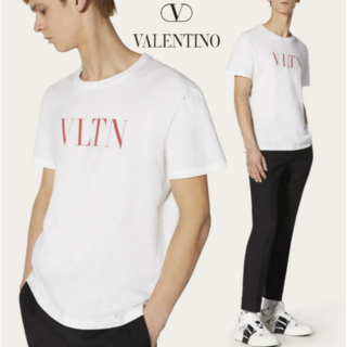 VALENTINO - VALENTINO ヴァレンティノ VLTN ロゴ Tシャツ