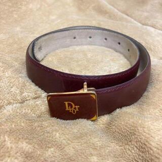 クリスチャンディオール(Christian Dior)のクリスチャンディオール ベルト レディース ブラウン 茶色 ハンドバッグ(ベルト)