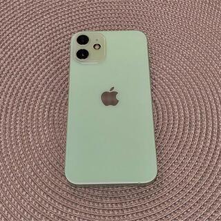 Apple - iPhone12mini グリーン 64GB SIMフリー バッテリー99%