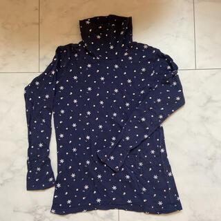 ハイネックTシャツ 140