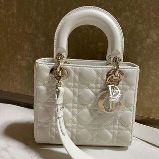 Christian Dior - 未使用に近い クリスチャンディオール レディディオール バッグ