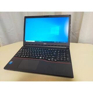 フジツウ(富士通)のCore i7!新品SSD搭載!新品フルHD液晶!富士通 A744/K(ノートPC)