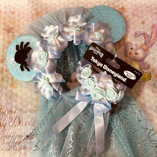 Disney - 【新商品】花嫁カチューシャ&シュシュセット✮ハロウィン 2021 ✮ディズニー