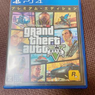 PlayStation4 - GTA5V:プレミアム・エディション PS4
