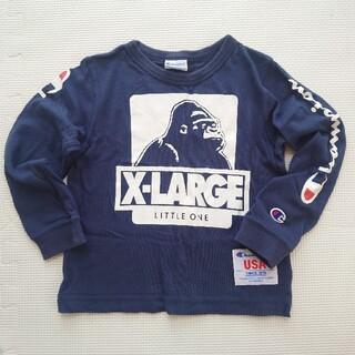 エクストララージ(XLARGE)のX-LARGE KIDS チャンピオンコラボ ロンT 長袖(Tシャツ/カットソー)