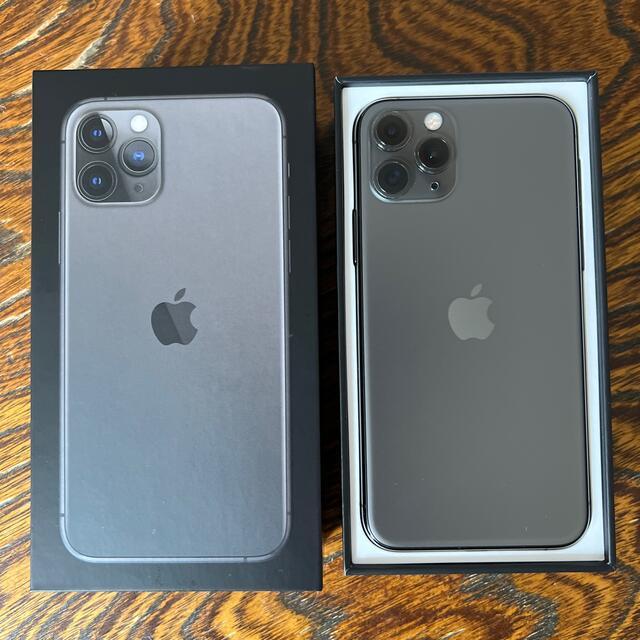 Apple(アップル)のiPhone11Pro 64GB スペースグレイ SIMフリー 美品  スマホ/家電/カメラのスマートフォン/携帯電話(スマートフォン本体)の商品写真