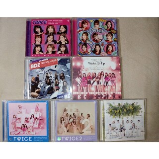TWICE CD シングル アルバム