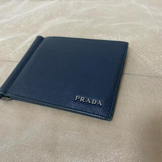 PRADA - PRADA マネークリップ付き財布