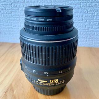 Nikon - Nikon AF-P DX 18-55mm F/3.5-5.6G VR