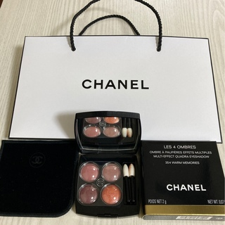 CHANEL - 袋・箱付き♡ CHANEL 354 ウォームメモリーズ