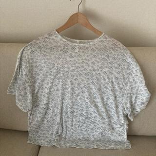 ミナペルホネン(mina perhonen)のミナペルホネン umi リネンT(Tシャツ(半袖/袖なし))