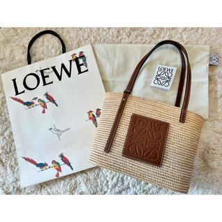 LOEWE - 【美品】LOEWE  IBIZA 2020ロエベ スクエアバスケット スモール