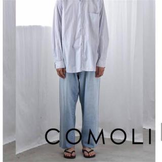 COMOLI - COMOLI  5Pデニムパンツ ブリーチ 3サイズ