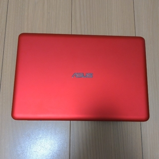 ASUS - ASUS X205T レッド 美品 動作確認