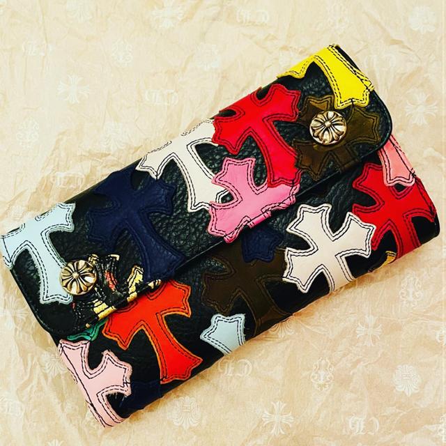 Chrome Hearts(クロムハーツ)のクロムハーツ 財布 マルチカラー 新品 メンズのファッション小物(長財布)の商品写真