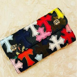 Chrome Hearts - クロムハーツ 財布 マルチカラー 新品
