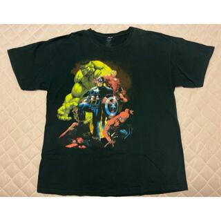 マーベル(MARVEL)の値下げ! マーベル tシャツ  XL 古着(Tシャツ/カットソー(半袖/袖なし))