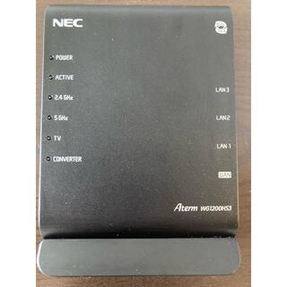 エヌイーシー(NEC)のNEC ルーターAterm WG 1200HS3(PC周辺機器)
