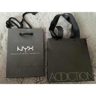 アディクション(ADDICTION)のショッパー袋 NYX ADDICTION(ショップ袋)