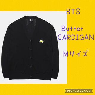 防弾少年団(BTS) - 【公式】BTS [Butter] カーディガン (black) Mサイズ