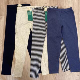 エイチアンドエム(H&M)のレギンス パンツ 120cm 4枚セット 新品未使用(下着)