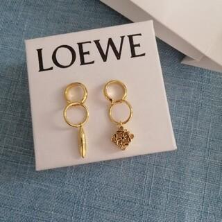 LOEWE - ❣️即納、美品 ロエベ✿ アナグラム ピアス  箱付き