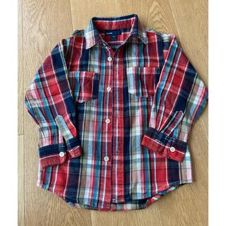 GAP - GAP 赤 ネルシャツ