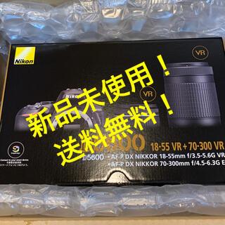 Nikon - 【新品未使用!】Nikon ニコン D5600-W70300KIT