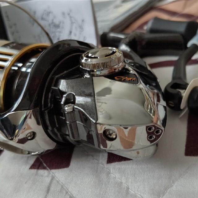 SHIMANO(シマノ)のシマノコンプレックスCl4+ 2500HGS F4 美品 スポーツ/アウトドアのフィッシング(リール)の商品写真