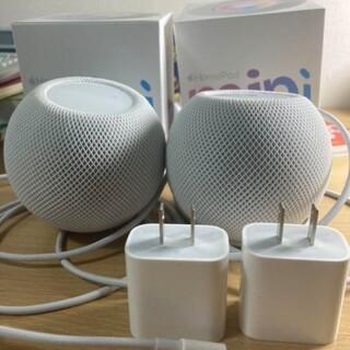 Apple - Apple HomePod mini MY5H2J/A ホワイト 2個セット