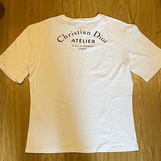 ディオール(Dior)のDIOR HOMME  Tシャツ アトリエ ロゴ ディオールオム(Tシャツ/カットソー(半袖/袖なし))