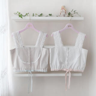 Katie - Katie  NO COUNTRY lace bustier ビスチェー