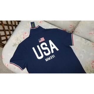 ラルフローレン(Ralph Lauren)の新品☆ラルフローレン ポロシャツ USA US M(ポロシャツ)