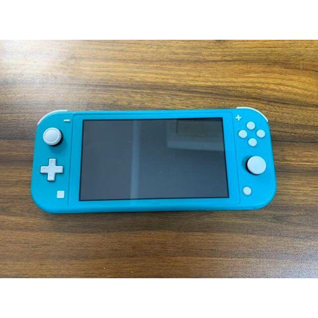 Nintendo Switch(ニンテンドースイッチ)のNintendo Switch LITE ターコイズ エンタメ/ホビーのゲームソフト/ゲーム機本体(携帯用ゲーム機本体)の商品写真